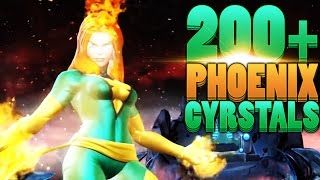 getlinkyoutube.com-INSANE 200+ Phoenix Crystal Opening - Marvel: Contest of Champions