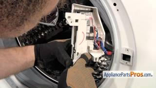 getlinkyoutube.com-Washer Door Switch Assembly (part #DC34-00024B) - How To Replace