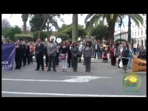MUNICIPIO DE LOJA EN ACTO CIVICO RINDIO HOMENAJE A CANTONIZACIÓN