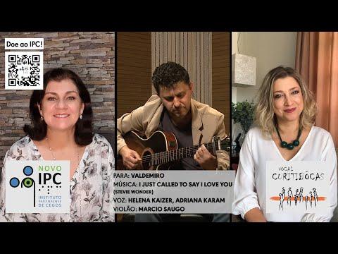 clique aqui para ver o video IPC e Curitibôcas (Adriana Karam e Helena Kaizer) - I just called to say I love you  (Stevie Wonder)