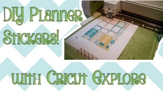 getlinkyoutube.com-DIY- Planner Stickers using the Cricut Explore!
