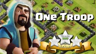 getlinkyoutube.com-Clash of Clans | One Troop, Three Stars | Unusual Attacks of All Kinds