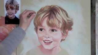 getlinkyoutube.com-Pastel portrait step by step