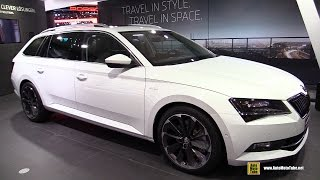getlinkyoutube.com-2016 Skoda Superb Combi 2.0 TSI 4x4 - Exterior and Interior Walkaround - 2015 Frankfurt Motor Show