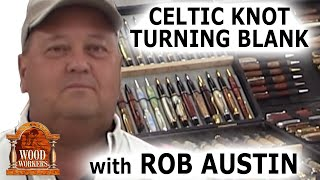 getlinkyoutube.com-Celtic Knot Turning Blank by Rob Austin