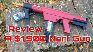 getlinkyoutube.com-Honest Review: The $1,500 Xplorer XFang Dart Gun