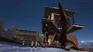 getlinkyoutube.com-Ark Survival Evolved: Quetzal Catcher Cage Tutorial!