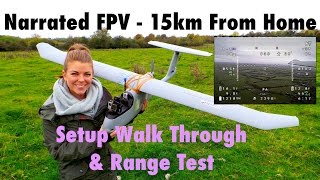getlinkyoutube.com-Narrated Long Range FPV Setup Overview & 15km Range Test - Skywalker 1900
