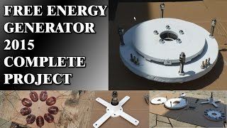 getlinkyoutube.com-Free Energy Generator 2015 - Works 100% (including project)