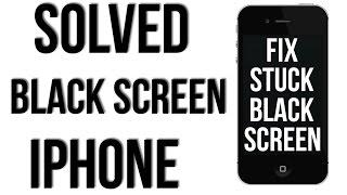 BLACK SCREEN FIX, SOLVED,  IPHONE 4, 4s, 5, 5s, 5c, 6, 6s, 6 plus, 6s plus,