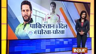 Shahid Afridi Mocks Team India with Moka Moka Song in Pakistan   India TV   YouTube