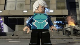 getlinkyoutube.com-LEGO Marvel's Avengers - Quicksilver Free Roam Open World Gameplay (Manhattan)