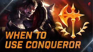 Champions you should and shouldn't use Conqueror on - LoL Guide