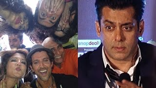 getlinkyoutube.com-Hrithik Roshan Enters Salman Khan's Bigg Boss House With A Bang!