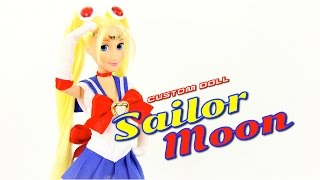 getlinkyoutube.com-DIY - Custom Doll: SAILOR MOON - Handmade - Doll - Crafts