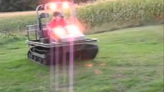 getlinkyoutube.com-TerraTrac Wildcat Tracked ATV -  The new Cushman Trackster