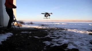 Gas powered hybrid Multi rotor UAV