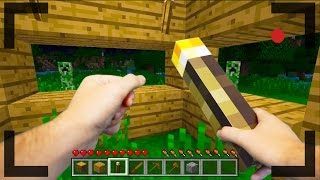 getlinkyoutube.com-Realistic Minecraft - OUR FIRST DAY IN MINECRAFT #1