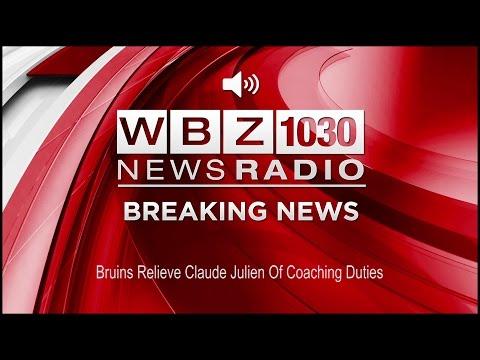 Bruins Relieve Claude Julien Of Coaching Duties (Audio)