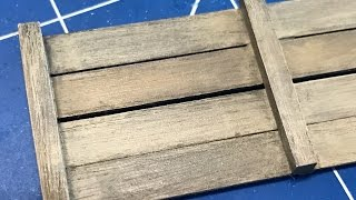 getlinkyoutube.com-Painting realistic wood and metal using Vallejo paint and weathering supplies