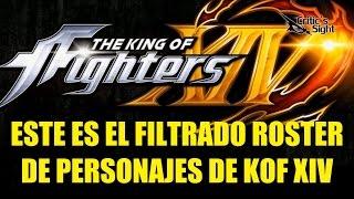 getlinkyoutube.com-Este es el Filtrado Roster de Personajes de The King of Fighters XIV