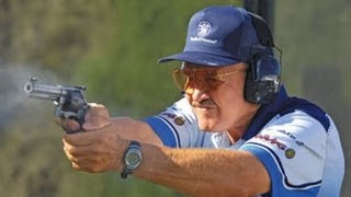 getlinkyoutube.com-Fastest shooter EVER, Jerry Miculek- World record 8 shots in 1 second & 12 shot reload! HD