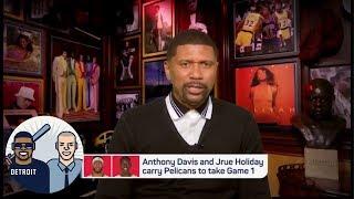 Jalen Rose on Pelicans upsetting Blazers: 'I think it is gonna happen' | Jalen & Jacoby | ESPN