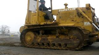 getlinkyoutube.com-Fiat Allis FD9 DIESEL Dozer Winch Logging Machine FD-9 Tractor Crawler Narrow...
