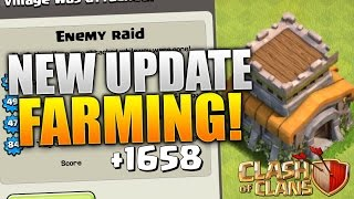 "getlinkyoutube.com-Clash of Clans - ""NEW UPDATE!"" TH8 FARMING BASE! CoC BEST TOWN HALL 8 HYBRID BASE DEFENSE 2015!"