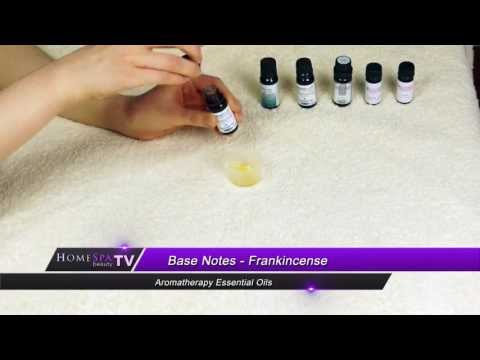 Aromatherapy Essential Oils - Base Notes