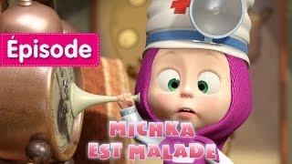 Masha et Michka - Michka est malade (Épisode 16) Nouveauté!