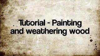 getlinkyoutube.com-Tutorial - Weathering wood
