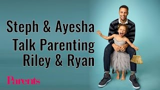 Stephen & Ayesha Curry Talk Parenting Riley and Ryan | Parents