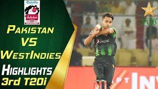 Highlights | 3rd T20i | Pakistan Vs Windies 2018 | Jubilee Insurance Cup 2018 | PCB width=