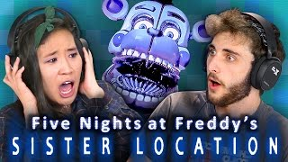 FIVE NIGHTS AT FREDDY'S: SISTER LOCATION (REACT: Gaming)