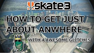 getlinkyoutube.com-How to get just about anywhere in Skate 3: 4 Glitch Tutorials