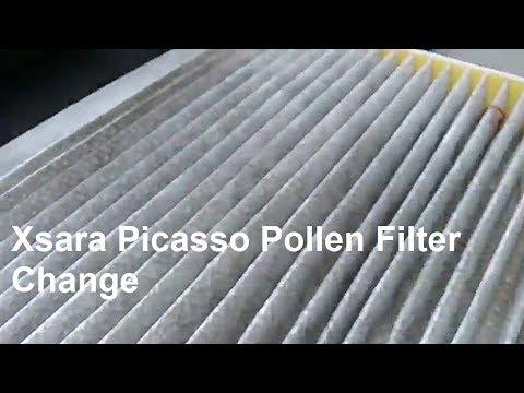 ... Xsara Picasso Pollen Filter Change