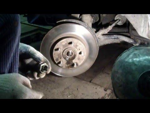 HONDA CRV Замена подшипника ступици и задней стойки