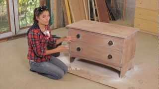 getlinkyoutube.com-How To: Sanding & Painting Furniture with Layla