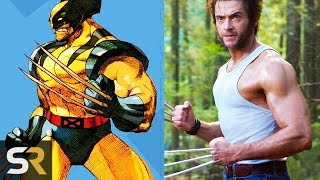 getlinkyoutube.com-10 Superheroes Who Look NOTHING Like The Comics (Wolverine, Deadpool and more!)