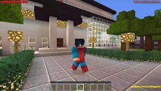 getlinkyoutube.com-Minecraft Superman Big Modern House #dikagame