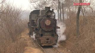 getlinkyoutube.com-[0023] Xingyang Brickworks Railway Clay Train 河南省建材廠鉄路(滎陽市)