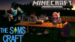 getlinkyoutube.com-MOD : The Sims Craft Minecraft pocket Edition 0.13.0/0.13.1
