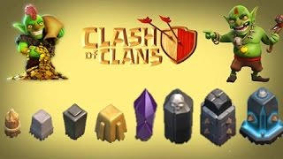getlinkyoutube.com-Clash of Clans How To Level Up Walls Very Fast | Clash Of Clans Strategy Guide