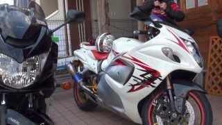 getlinkyoutube.com-女性ライダー Bandit1250S バンディット1250 VS 男性ライダー Hayabusa 1300