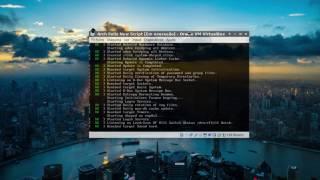 getlinkyoutube.com-Install Arch Linux (Feliz Installer) 20/01/2017