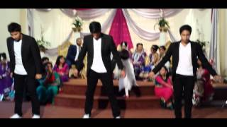 getlinkyoutube.com-Wedding Reception Dance (Nisar and Sobia's) Ft. Bhangra/Bollywood/Street Dance