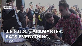 getlinkyoutube.com-J.E.S.u.S. (Jackmaster, Eats Everything, Skream & Seth Troxler) Boiler Room Ibiza DJ Set
