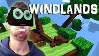 getlinkyoutube.com-I'M GONNA PUKE | Windlands with the Oculus Rift