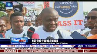 Not-Too-Young-To-Run: Nigerian Youths Press For President's Assent